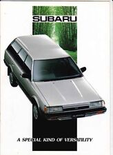 1989 SUBARU LEONE SEDAN 4WD TOURING WAGON Australian Market TURBO ROYALE