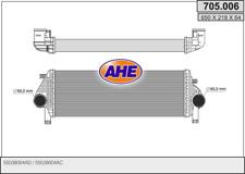 LLK Ladeluftkühler Turbokühler für JEEP GRAND CHEROKEE WK 3,0CRD 55038004AD