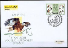 BRD 2008: protección de aves espera Seebach! post-fdc nr 2661! Berliner sello! 1a 1510