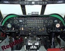 Photograph US Airforce B-52B Stratofortress Aircraft Flight Deck  11x14