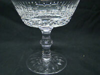 Waterford Tramore Champagne / Tall Sherbet Glasses 4 1/2in Clear Cut Crystal