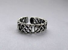 Toe Ring ! Brand New ! Sterling Silver (925) Adjustable Buckled Design