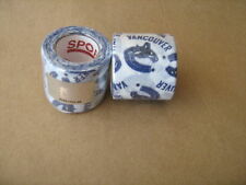 2 Rolls of Nhl Vancouver Canuck Logo White Cloth Tape 38mm x 5m