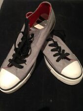 NYC 1975 MENS SIZE 9 / LADIES SIZE 10 GREY AND WHITE RUNNERS EXCELLENT COND.