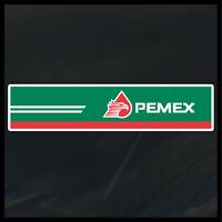 Pemex Gas Station decal sticker hecho en mexico huachicoleros  8.5x1.75