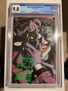 Batman The Killing Joke DC Comics 1988 1st Print CGC 9.8 WP No Reserve!