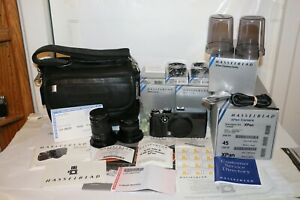 Hasselblad XPan Standard Kit With 45mm & 90mm Lenses and LOTS More Mint In Box