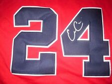 EVAN GATTIS AUTOGRAPHED SIGNED ATLANTA BRAVES STARS AND STRIPES JERSEY W/COA