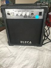 ELECA EG-10J guitar amp Excellent Working Order