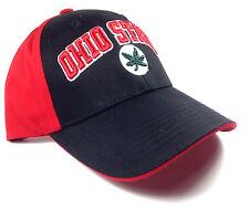 OHIO STATE UNIVERSITY BUCKEYES LOGO SNAPBACK HAT CAP ADJUSTABLE CURVED BILL NWT