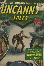 UNCANNY TALES #42 (1956) VG/FN 5.0   ATLAS  JACK ABEL!  BERNIE KRIGSTEIN!