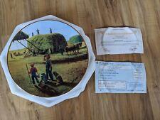 Danbury Mint Farming The Heartland A Well Deserved Break Plate By Emmett Kaye
