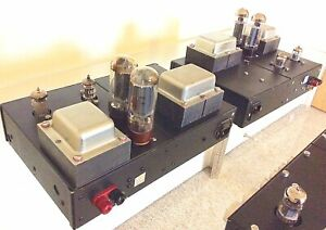 Millennium EL34 Mono Block Valve Tube Amplifiers For Quad, Leak, Rogers Speakers