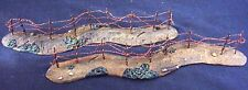 BRITAINS DIORAMA ACCESSORIES 51006 2 BARBED WIRE SECTIONS MIB