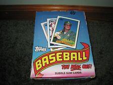 New listing 1989 Topps Baseball Box - 36 Packs
