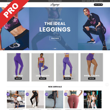 LEGGINGS STORE | Ready-To-Go Dropshipping Website | High Potential Business