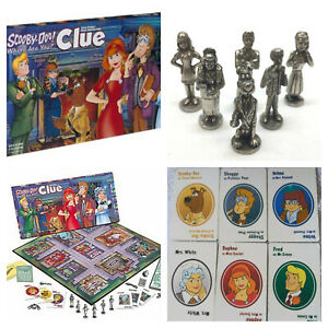 Scooby Doo Clue REPLACEMENT PARTS & PIECES Board Game Parker Brothers 1999