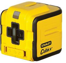 STANLEY INT177340 Self Levelling CUBIX Red Cross Line Laser Level Mounting Clamp