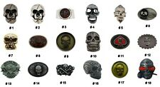 Belt Buckle Limited Production Metal New Men Women Halloween Party Costume Skull
