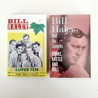 Bill Haley - Lot of 2 Cassettes - Super Ten + Shake Rattle and Roll