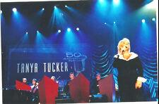Rare Tanya Tucker Candid Concert 4 X 6 Photo
