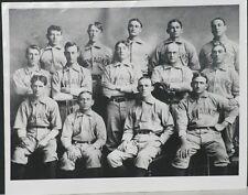 1902 Milwaukee Brewers Team Photo, 1952 Re-strike, Silver Gelatin, Orig Negative