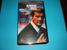 V.H.S. VIDEO TAPE COLLECTABLE.....JAMES BOND OO7...A VIEW TO A KILL