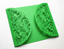 NEW ✿ Heart Leaves Vine Half Circle Die ✿ For Cuttlebug & Sizzix ✿
