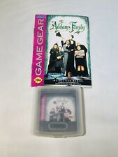 Addams family Sega Game Gear Tested With  Manual