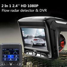 """2.4"""" 1080P Car Video Camera Recorder Dash Cam Radar Speed Detector DVR G-sensor"""