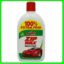 Turtle Wax Zip Wax Wash & Wax 500ml + 500ml Free [TZ8]100% Extra