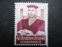 Germany Nazi 1934 Stamp MINT Judge WWII Third Reich Deutsches Reich German Deuts