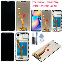 LCD Display Touch Screen Digitizer Replacement For Honor Play /COR-L29/COR-AL 10