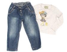 NEXT Karotten-Jeans und Langarm-Shirt - 92-98