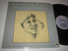 LP Elisabeth Welch: Where Have You Been - Kanada DRG Records 5202