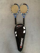 New listing 2 BABOLAT SOFT DRIVE WOOFER TENNIS RACQUETS W/SOFT LINE CASE-106 HEAD 4 1/4 GRIP
