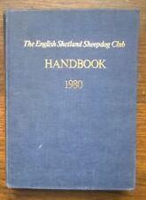 More details for the english shetland sheepdog club handbook 1980. vintage hardback sheltie book.