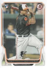 2014 Bowman Baseball #128 Jonathan Schoop RC Baltimore Orioles