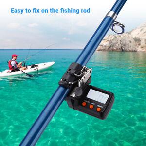 Fishing Line Counter 999.9M Digital Display Adjust for River Ocean Fishing
