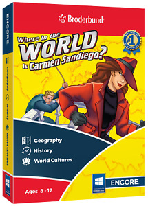 Where in the World is Carmen Sandiego - Digital Download