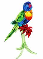 Authentic New in Box $629 Swarovski Rainbow Lorikeet Bird parrot  # 5136832