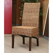 Java Rattan Dining Chair Salak Brown