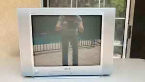 "Sony Trinitron KV-27 FS120 Wega 27"" CRT TV Retro Gaming Television July 05 Build"
