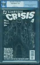 Identity Crisis 1 Negative Variant PGX CGC 9.8 Batman Superman Dawn Justice 2016