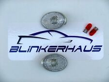 CLEAR Vauxhall Astra Mk3 Corsa Mk1 Tigra Lotus Elise Side Repeaters Indicators