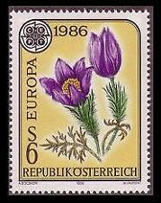 Mint Never Hinged/MNH Nature Austrian Stamps