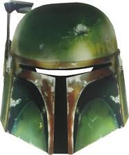 Boba Fett Card Paper Mask Star Wars Fancy Dress Up Halloween Costume Accessory