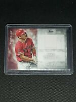 2020 Topps Update Series MIKE TROUT #MLM-MTR RELIC Angels MAJOR LEAGUE MATERIAL