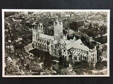RP Vintage Postcard - Kent #22  - Canterbury Cathedral From The Air - Valentines