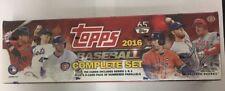 2016 Topps Baseball Factory Set Sealed Complete Box Hobby Edition Bonus Pack